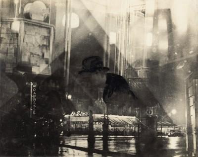 Veno Pilon, Noč v Montparnassu, 1930 / z dovoljenjem Pilonove galerije Ajdovščina