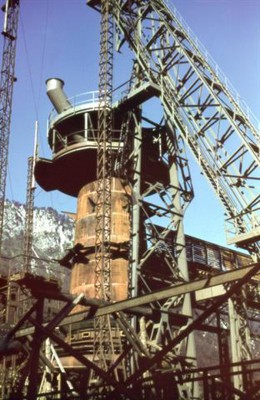 Slavko Smolej, Gradnja 2. plavža / Construction of the blast furnace no. 2, Jesenice, 1940