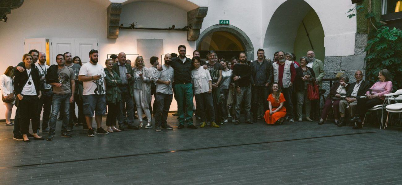 foto: Lana Bregar, otvoritev razstave Jaka Gasar – Herojska pot na FT2016